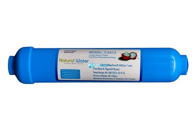Nw 10 inc T33T3 nline Post Carbon Filtre