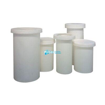 100 LT POLİETİLEN-Beyaz Kimyasal Solüsyon Tankı