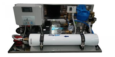 Aqualine Alfa 125-2 Serisi Ters Ozmoz Endüstriyel Su Arıtma Cihazı
