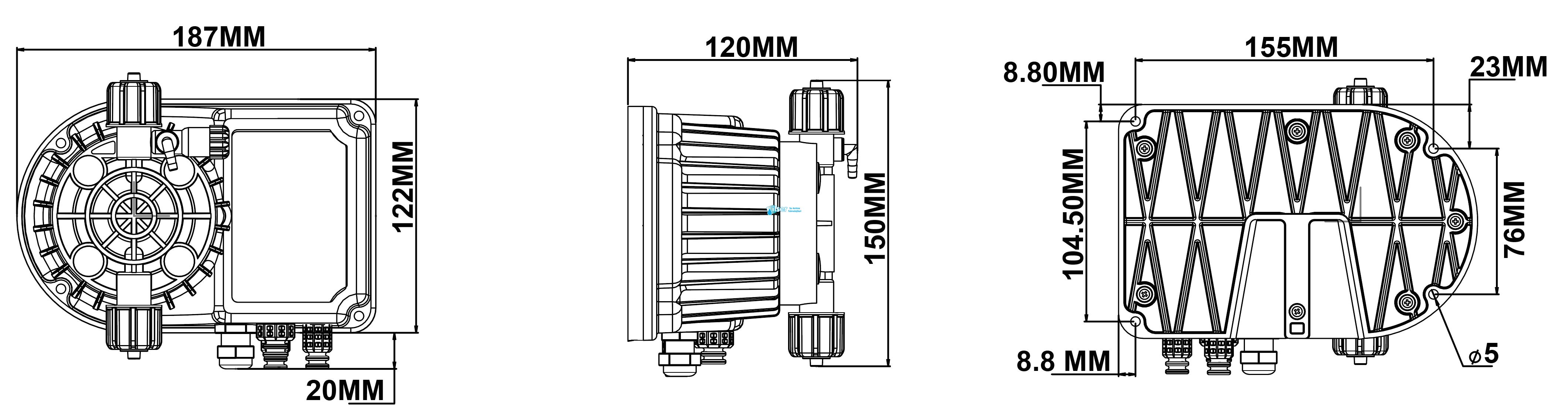 Antech DP LARA A 10L/5B V220FAT Dozaj Pompası