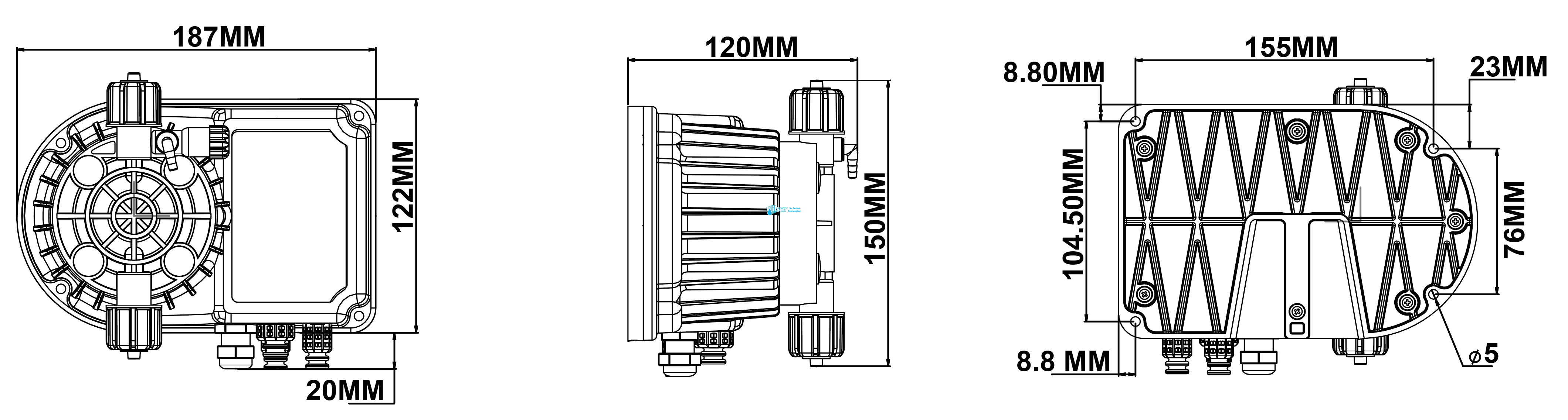 Antech DP LARA A 5L/7B V220FAT Dozaj Pompası