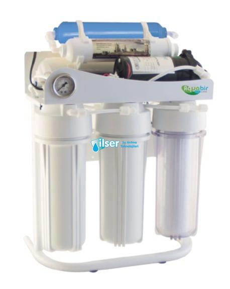 Aquabir 6A-WP Pompalı Standlı Manometreli Su Artıma Cihazı