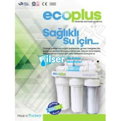 Aquatürk Ecoplus Premium Serisi Pompalı Su Arıtma Cihazı