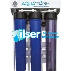 Aquatürk HF 400 Serisi Direk Akışlı Pompalı Su Arıtma Cihazı