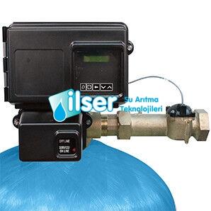 C - 250 Fleck 2910 Tam Otomatik Aktif Karbon Filtre Sistemi