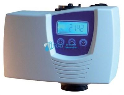 C-300 Fleck 7700 Tam Otomatik Aktif Karbon Filtre Sistemi