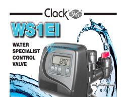 Clack - CLACK WS1 EI Yumuşatma Tandem Twin (Ara Bağlantı Borusu Hariç)