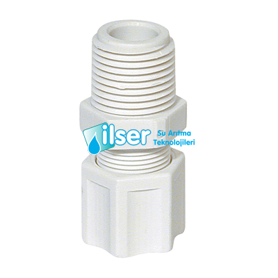 Female Connector 3/8T, 1/4