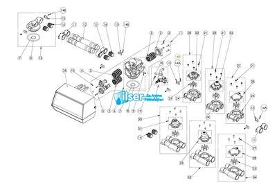 FL 24238 9000 İkinci Tank Adaptörü