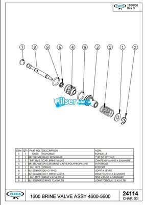 FL24114 5600 Tuz Pistonu