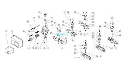 FL40388 2910 Alt Drive Motor 24V