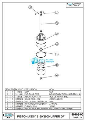 FL60106-00 3900 Üst Piston YBP