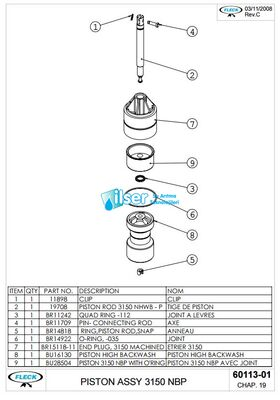 FL60113 3150 Piston NBP