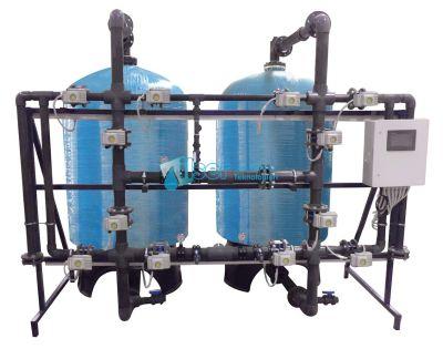 FRP Tanklı Yüzey Borulamalı Tandem Yumuşatma Sistemleri