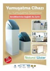 Natural Water - NW-25 Tam Otomatik Zaman Kontrollü Yumuşatma Sistemi(Kabinet)