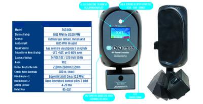 Ozon Ölçüm Cihazı TKZ/OS6