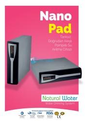 Natural Water - ROPAD/NANOPAD Tanksız, Doğrudan Akışlı, Pompalı Su Arıtma Cihazı