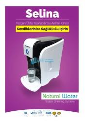 Natural Water - Selina Tezgah Üstü Taşınabilir Atığı olmayan Su Arıtma Cihazı