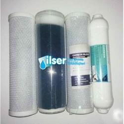 Su arıtma Filtre Takımı 4 'lü