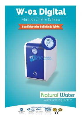 W01 Natural Water Dijital Akıllı Su Üretim Robotu