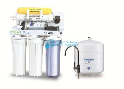 W02-Natural Water Pompalı Su Arıtma Sistemi