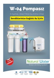 Natural Water - W04 Naturel Water Pompasız Su Arıtma Sistemi