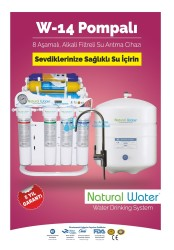 Natural Water - W14 Manometreli 8 Aşamalı Su Arıtma Cihazı