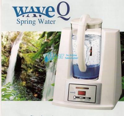 WaveQ Spring Water Alkali Su Canlandırma Teknolojisi